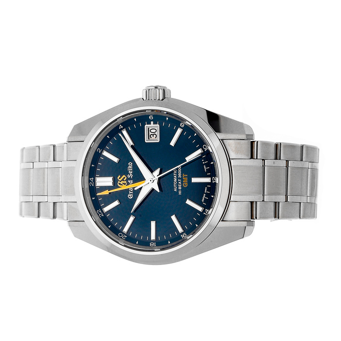 """The Grand Seiko """"Peacock"""" GMT, a perfect watch to mark any occasion."""