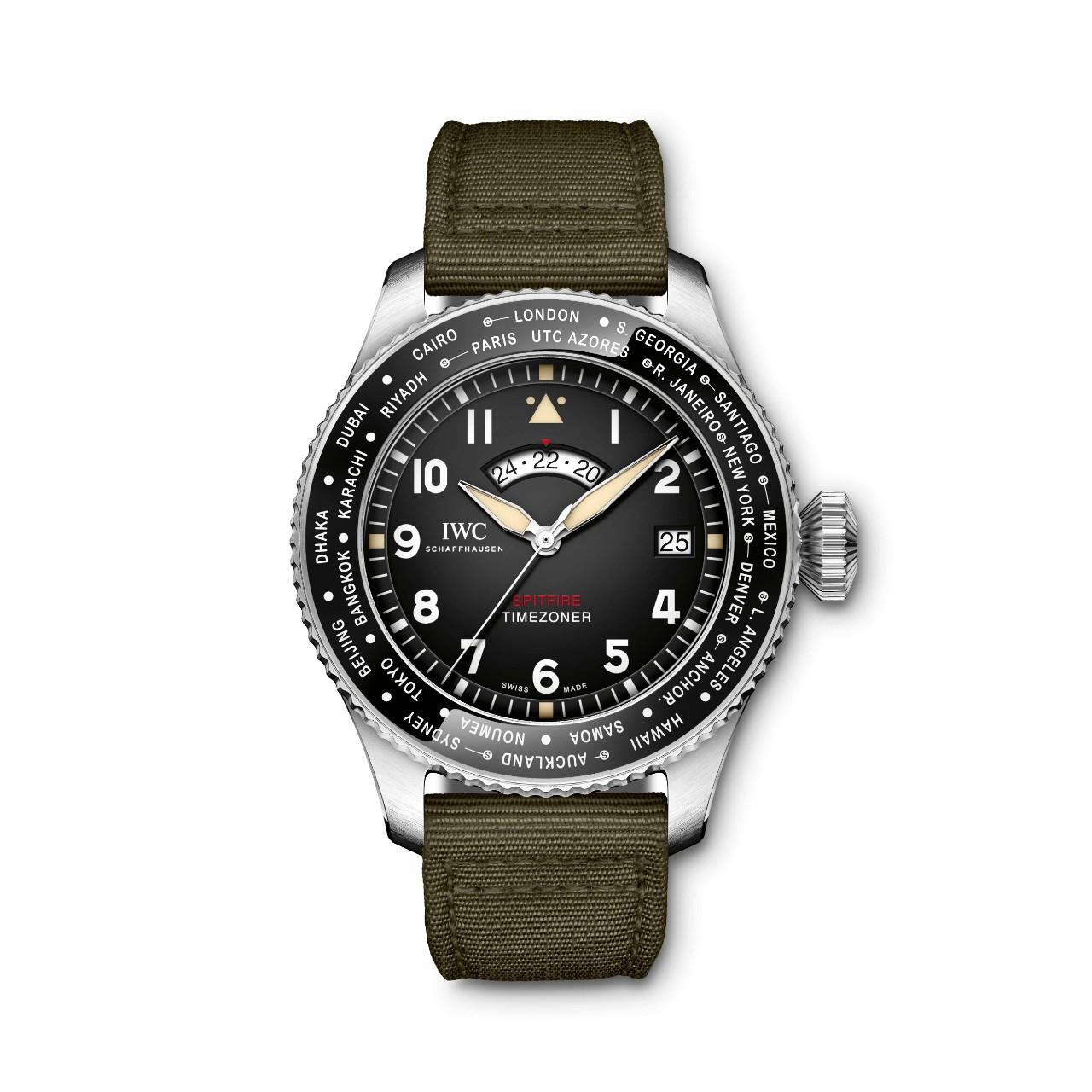 IWC Pilot's Watch Spitfire Edition Timezoner