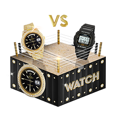 Mystery Brand's Watch box. You could win a Rolex!