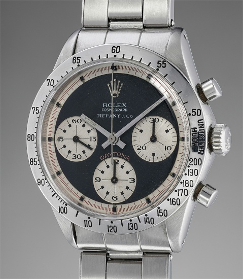 A Ref. 6239 with Tiffany dial that sold for CHF 540,500 in November 2018.