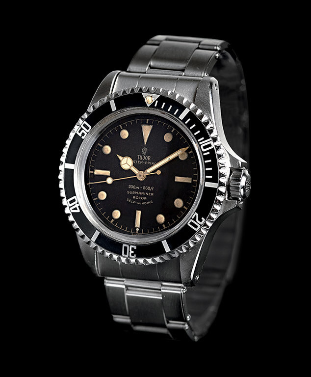 "Tudor Submariner Ref. 7928 ""Square Crown Guards"" 