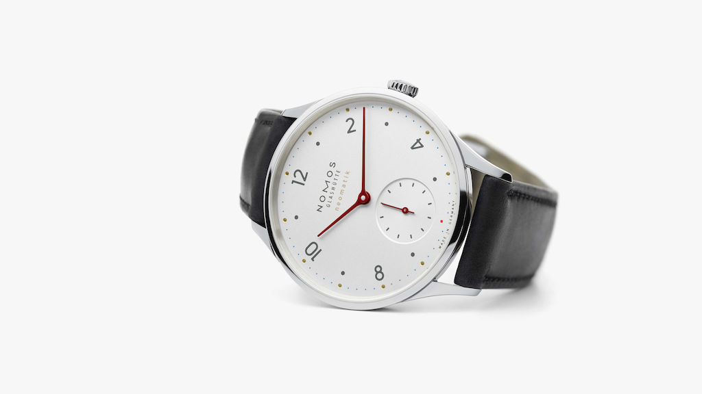 Nomos Minimatik, featuring the DUW 3001