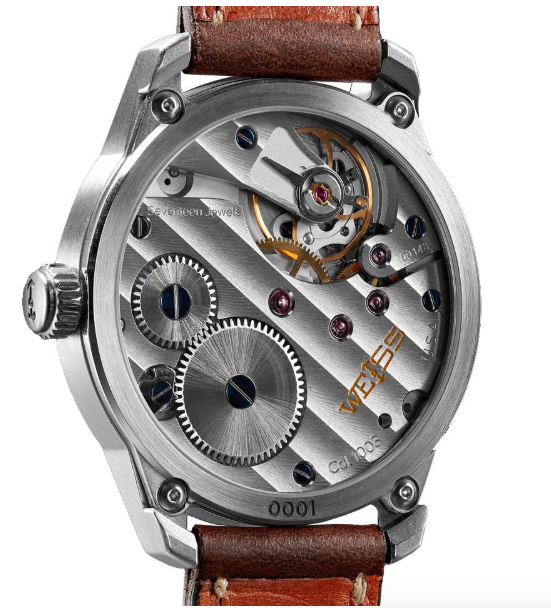 weiss caliber 1003 movement