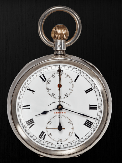 An early-era Favre-Leuba pocket watch