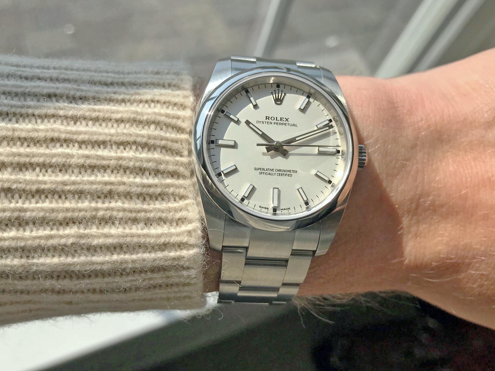 A Rolex OP 34 |  Reddit