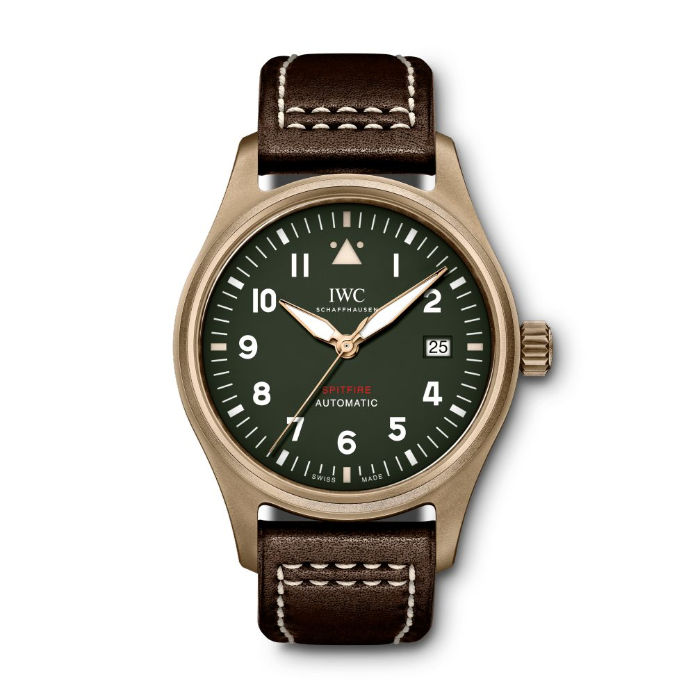 "The bronze IWC ""Spitfire"" 