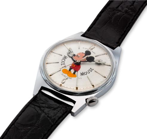 mickey mouse hamilton watch