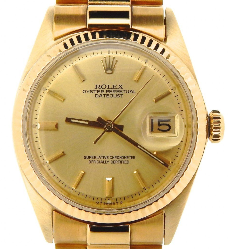 datejust ref 1601 gold