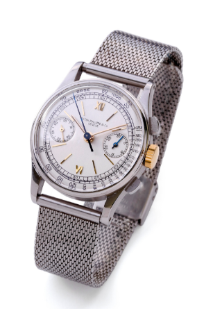 patek phillipe reference 130 in steel