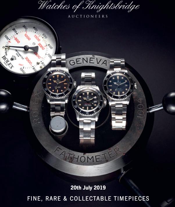 watches of knightsbridge 2019 july