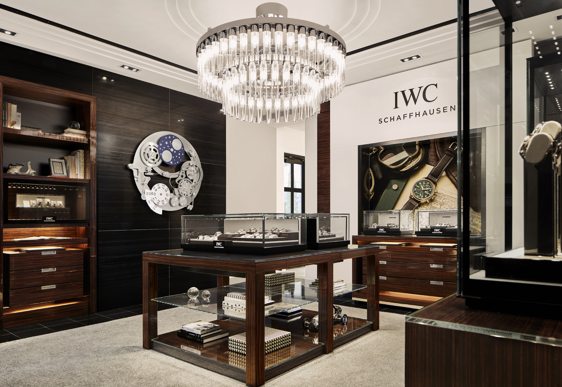 IWC's new Chicago boutique in the Waldorf Astoria hotel