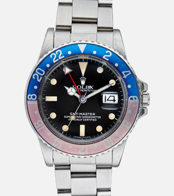 A matte dial Ref. 16750 GMT-Master |  Hodinkee Shop