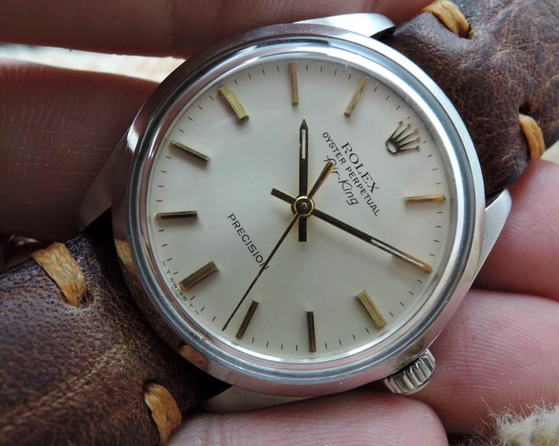 A late 1970s Air-King with gold indices and hands |  Alex Pig