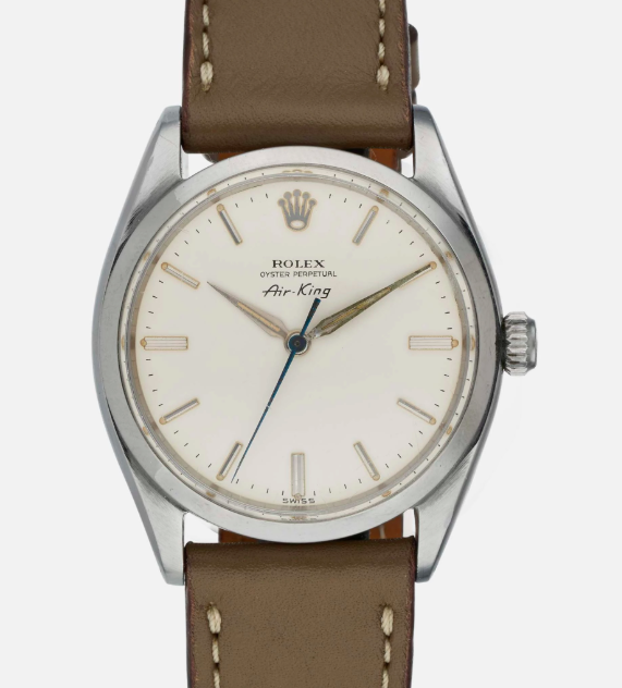 A 1960 Air-King with alpha hands and blue steel second hand |  Hodinkee Shop