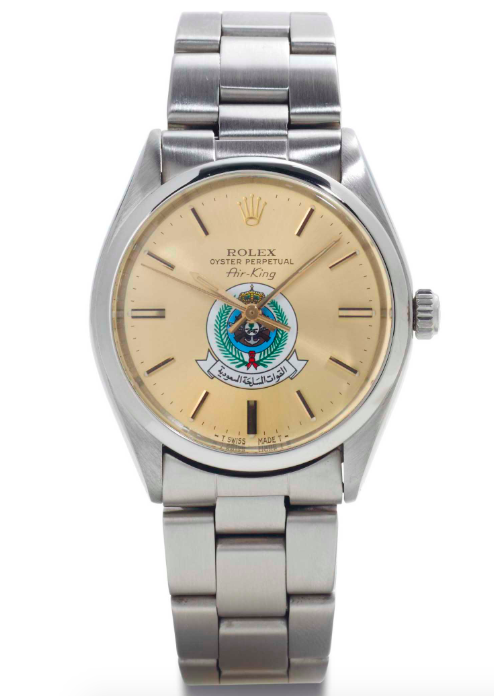 An Air-King featuring the coat of arms of Saudi Arabia |  Christie's