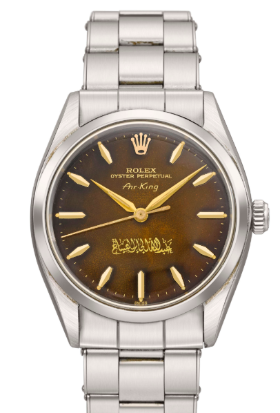 An Air-King featuring the signature of Sheikh Abdullah Al-Jaber Al-Sabah that auctioned for CHF 18,750 in November 2018 |  Christie's
