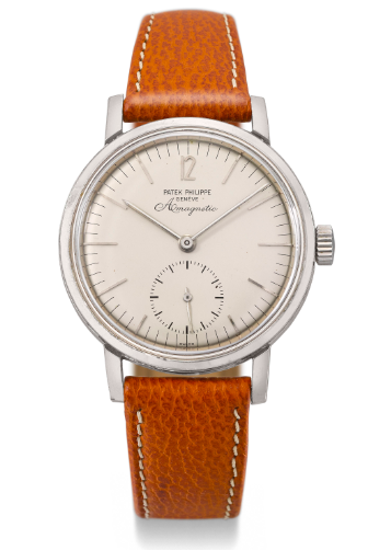 Patek Amagnetic Ref. 3417, on offer from Phillips