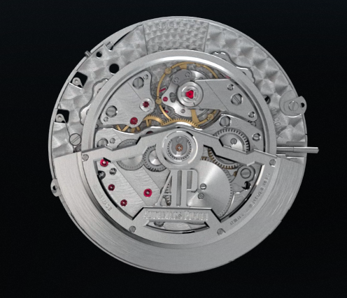 The record-breaking ultra-thin perpetual calendar movement, measuring just 2.89mm thick.