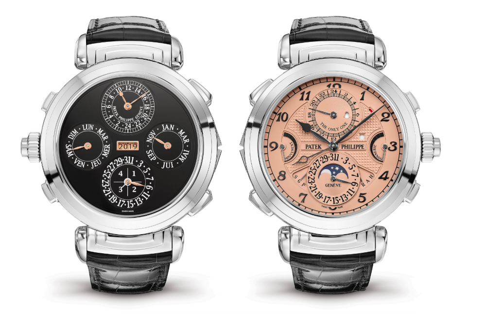 The Grandmaster Chime reference 6300A-010 for Only Watch 2019, the only of its kind in stainless steel.