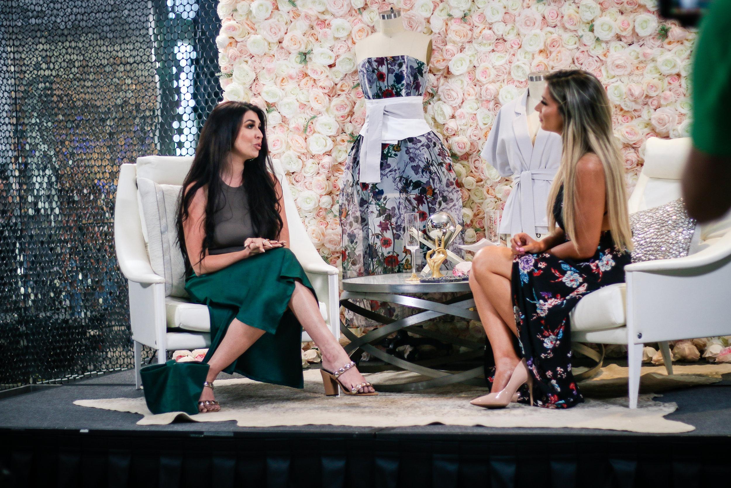 Bravo's Project Runway Designer Lela Orr  Lela is the founder of eco-luxury clothing line  Ferrah