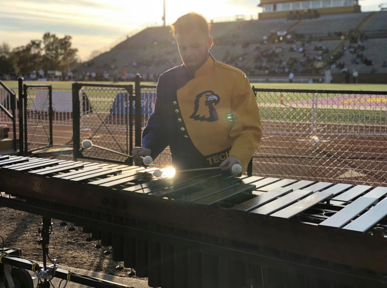 TN Tech percussionist preps for field performance