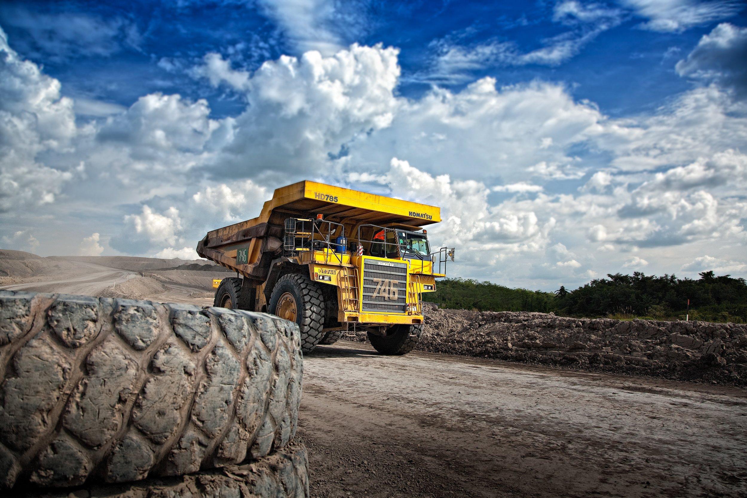 Industry Truck Minerals