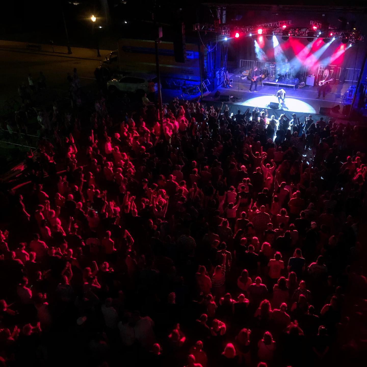 Stairway to Zeppelin drew 5,000 Fans to their performance at BOS center in Springfield, Illinois in July 2019.