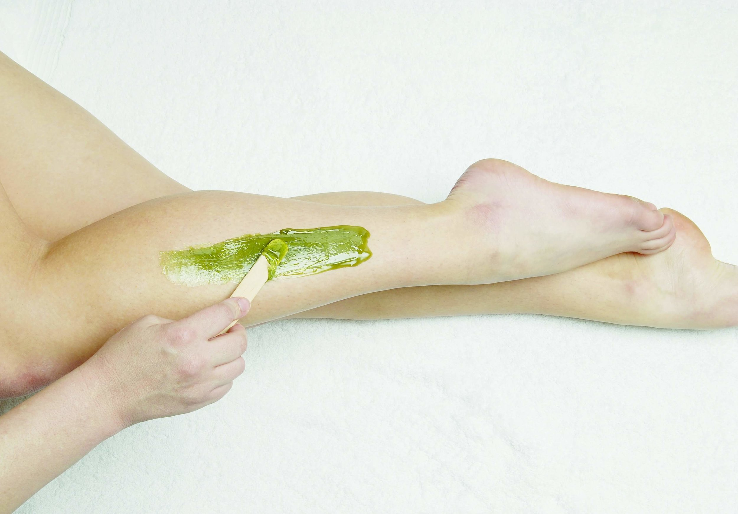 We have sugaring and waxing as an option for hair removal.