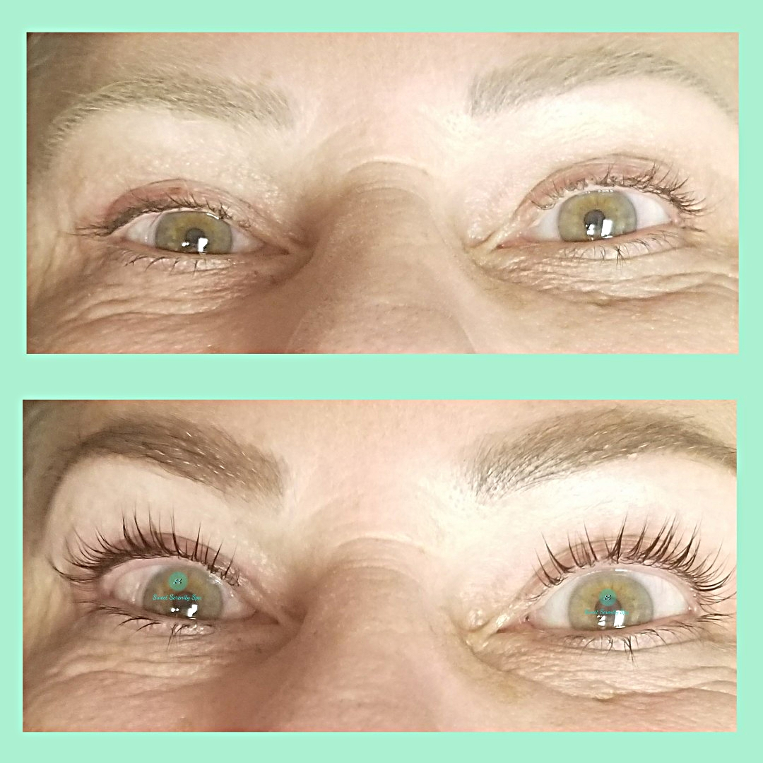 Lash Lift and Brow Tint