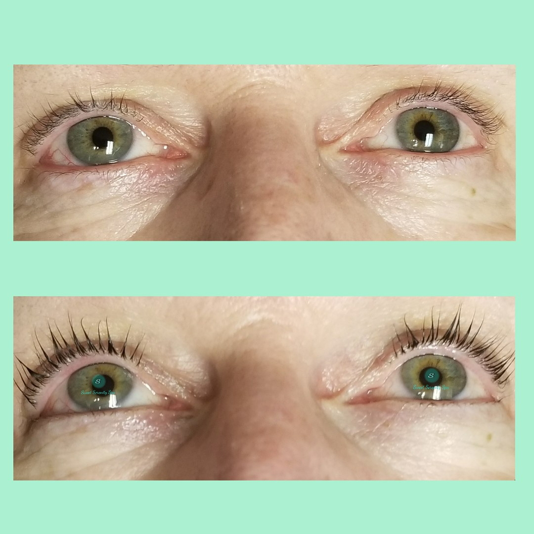 Lash Lift and Tint
