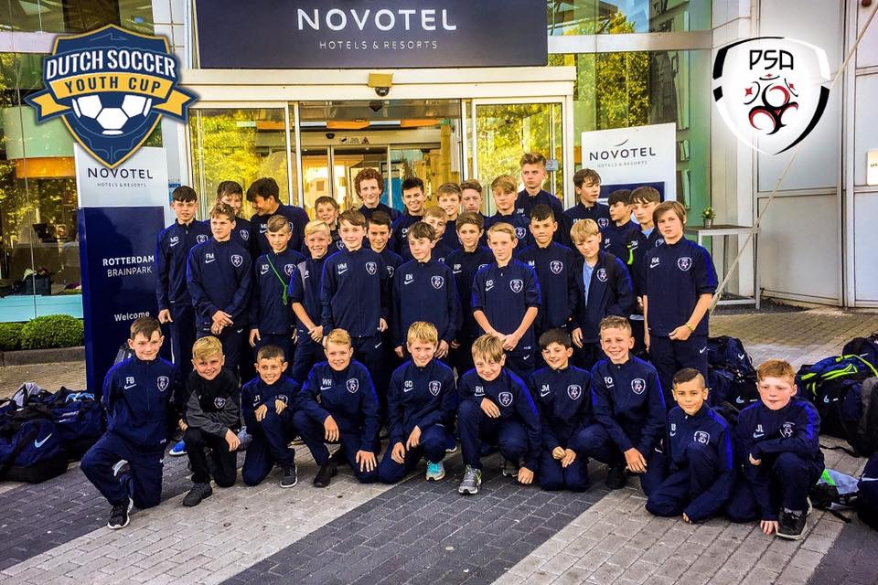 HOLLAND, MAY 2017 - THIS MARKED OUR FIRST EVER TOUR. WE TOOK OUR U11s, U14s AND 15s AWAY, AND IT WAS A GREAT TOURNAMENT WITH THE HIGHLIGHT BEING THE U11s FINISHING 3RD, NOT LOSING A GAME ALL TOURNAMENT NOR CONCEDING A GOAL.