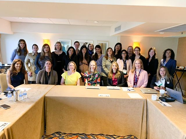 """""""We are women brain surgeons, what's your super power?"""" Women in Neurosurgery Executive Meeting in San Diego. I'm hearing uplifting stories today about professional journeys, leaning in without falling over and the family/work juggle. This group has grown stronger over the last year with new members and fresh faces at the table. #womeninneurosurgery #neurosurgery"""