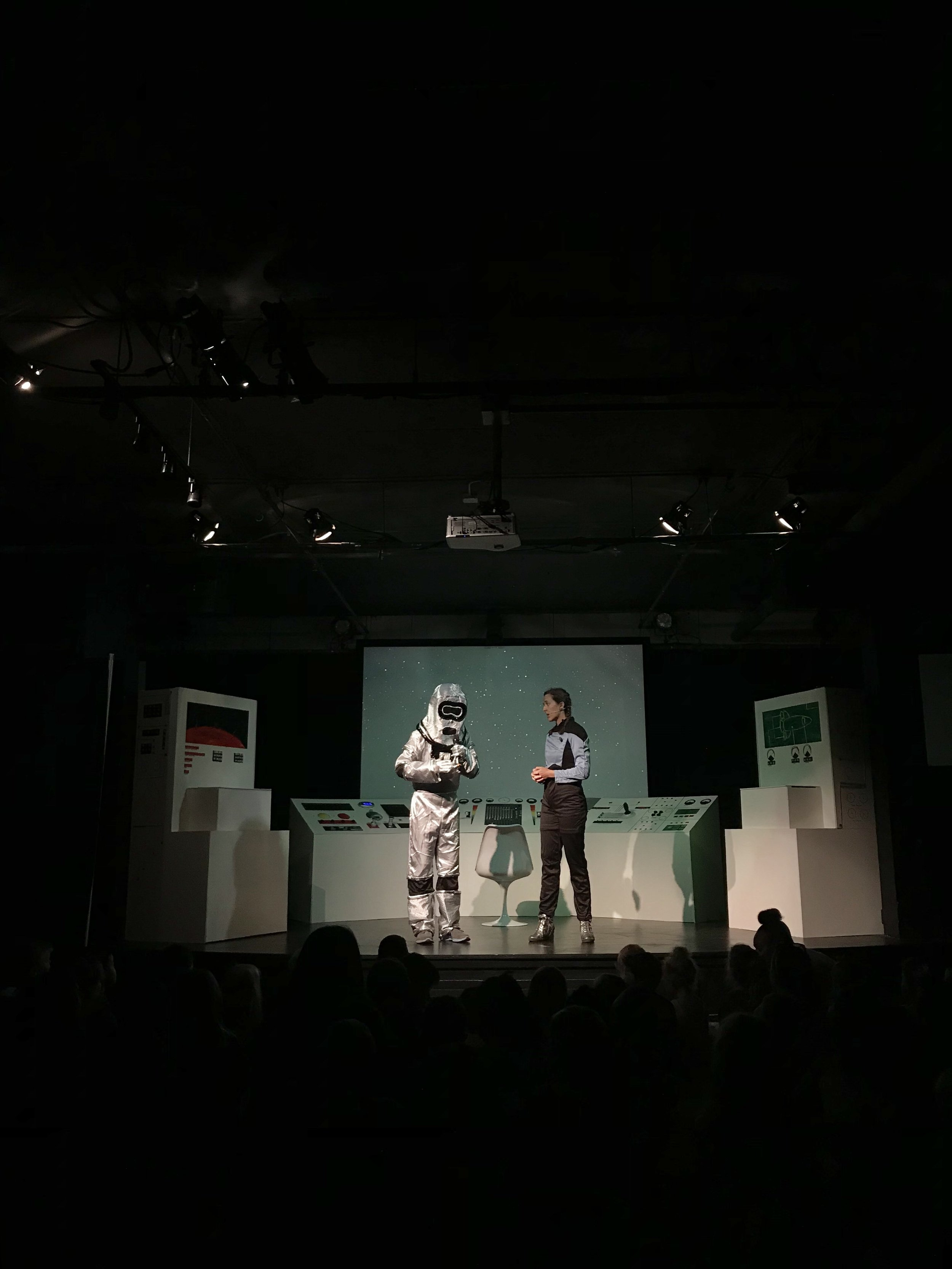 Scene from a short play at Soul City Kids Camp 2018