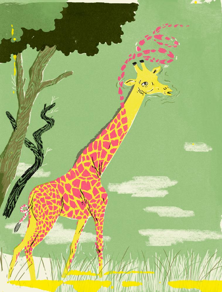 Do Giraffes Get Head Rushes?
