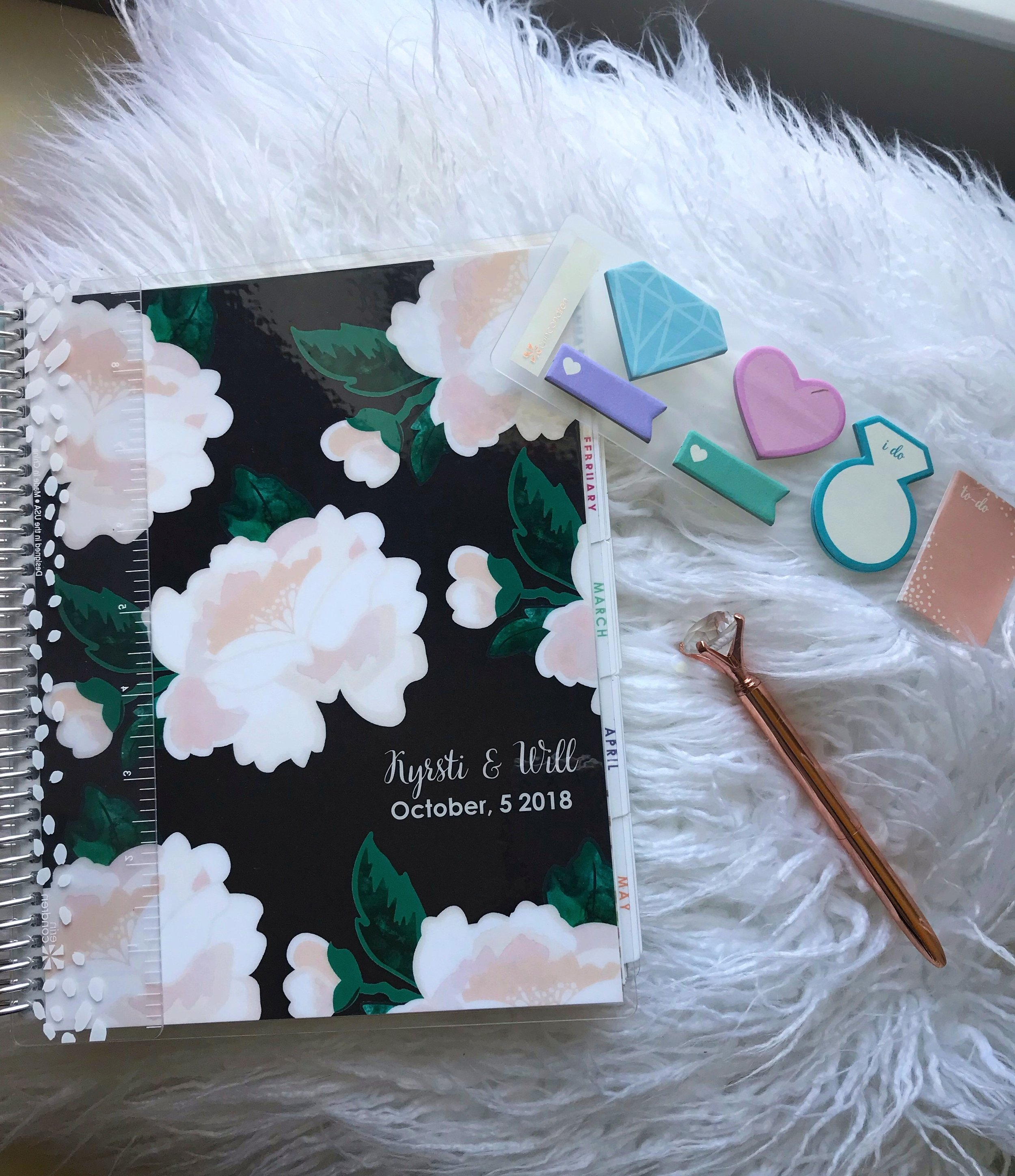 WEDDING PLANNER - https://erincondren.com/wedding-plannersmine was by Erin Condren, but there are plenty out there and I have often seen them at TJ Maxx and similar stores as well as Target!