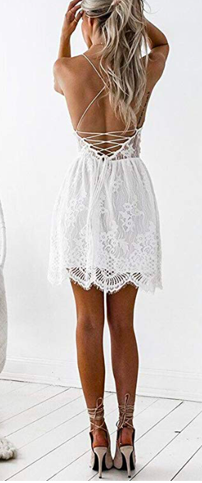 bridal shower or bachelorette dress - So I ended up returning this one, and it does not have the best reviews but it is because it runs SHORT. Otherwise it was simply stunning! If you are short, this would work great for you!