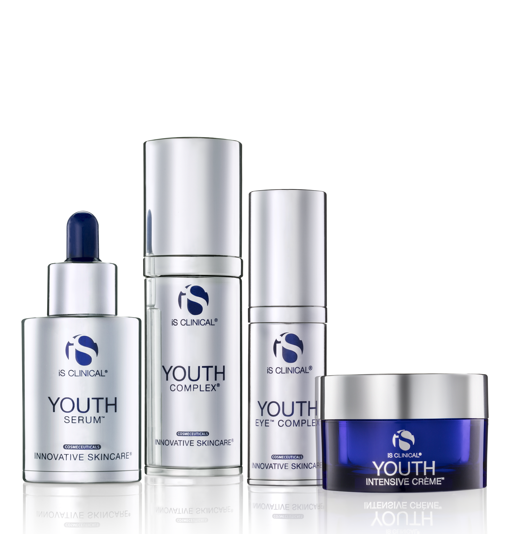 Boasting one of the most revolutionary anti aging skin care lines IS Clinical - A great way to halt the skin aging process.