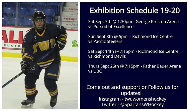 ITS GAME DAY!! Our first of 4 exhibition games kicks off this afternoon with a game against @poehockey! Puck drops at 1:30pm at George Preston. If you can't make it out, follow along for updates!!