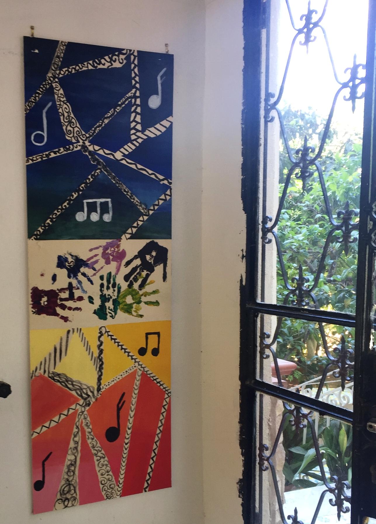 Art Show at the Fondazione Passarelli, Salerno, Italy.