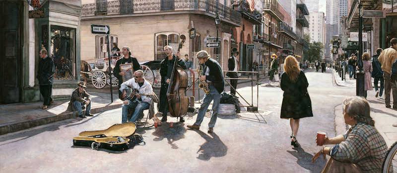 Street of New Orleans・Steve Hanks