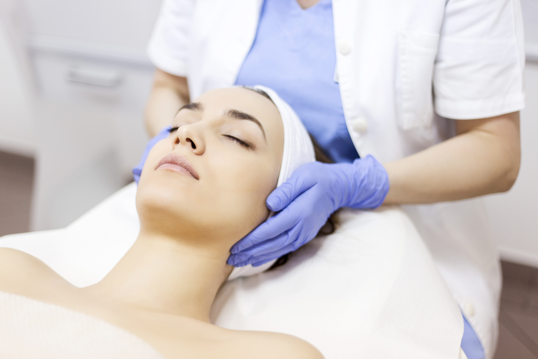 Chemical Peels - Chemical peels are solutions of glycolic, trichloroacetic, salicylic, lactic acid or phenols applied to the skin.