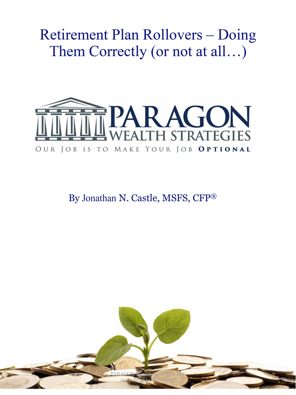 Retirement Plan Brochure