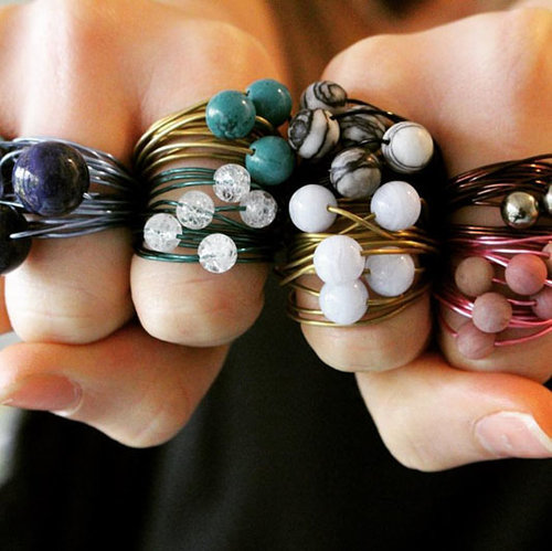 Sara Argentum  returns with her colourful and fun range of jewellery,