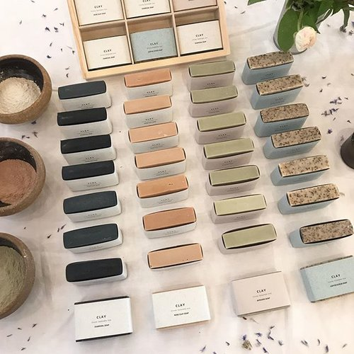 Clay Norwich  will be selling plastic-free beauty products, newly launched and absolutely divine.