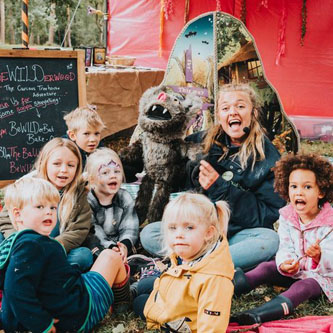 Games, giggles, storytelling and crafting in true  BeWILDerwood  style.