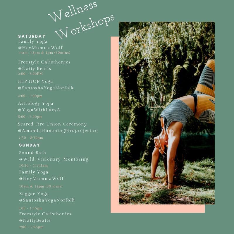 Wellness Workshops at Tribe Norfolk