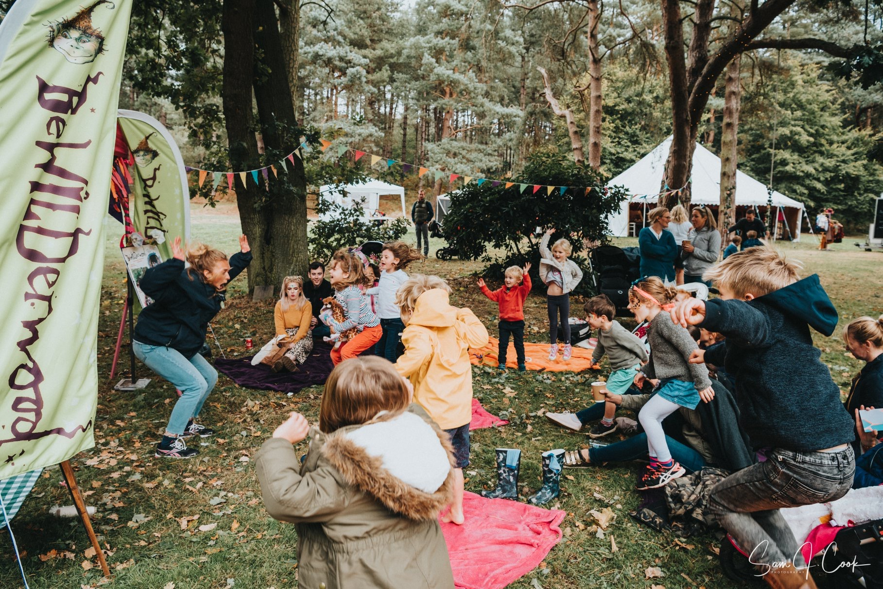 BeWILDerwood at Happy Valley Tribe Norfolk Festival