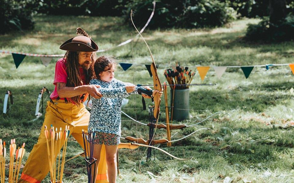 Water Wish archery