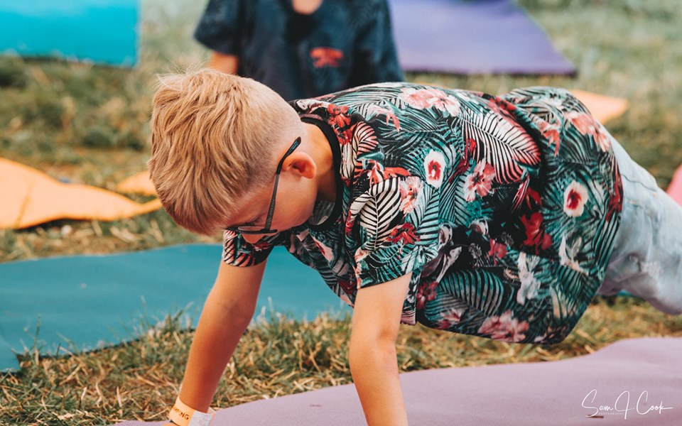 Family yoga at Tribe Norfolk