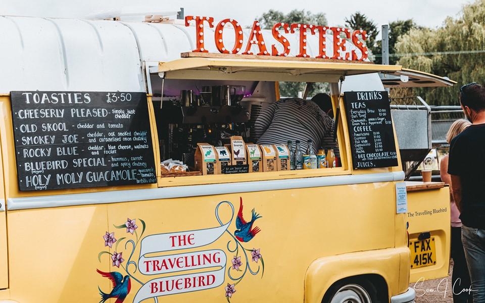 Travelling Bluebird food